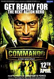 Commando | 2013 | 720p | Hindi | 1 GB | BluRay
