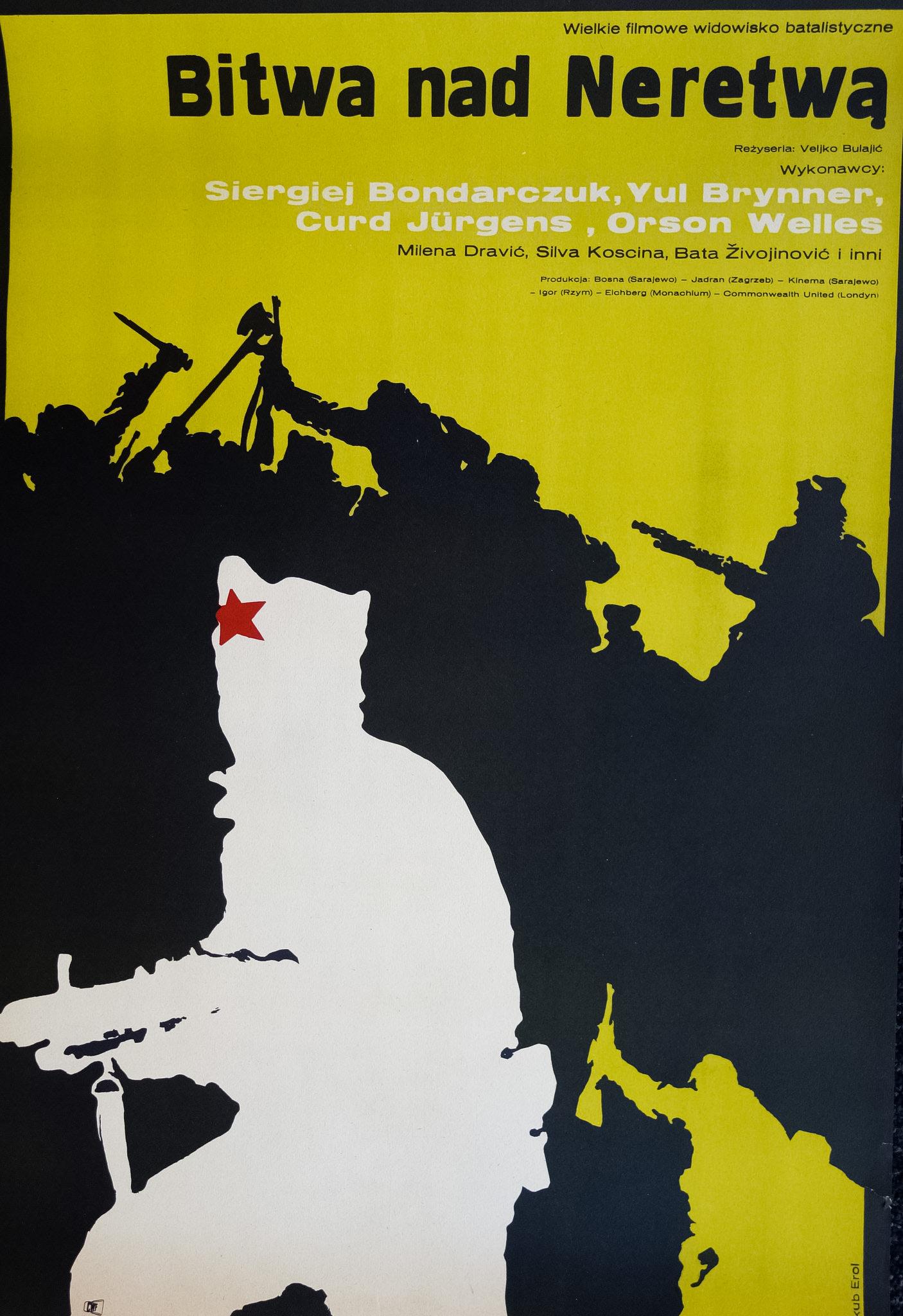 Orson Welles, Yul Brynner, Sergey Bondarchuk, and Curd Jürgens in Bitka na Neretvi (1969)