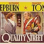 Katharine Hepburn and Eric Blore in Quality Street (1937)