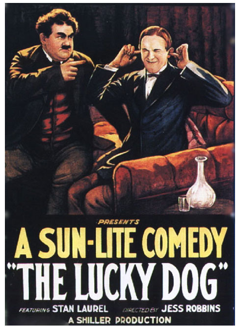 The Lucky Dog (1921) DVDRip