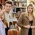 Still of Wallace Langham, Kathy Najimy, Robert Gant, and Kirstie Alley in Veronica's Closet and Veronica Sets Josh Up