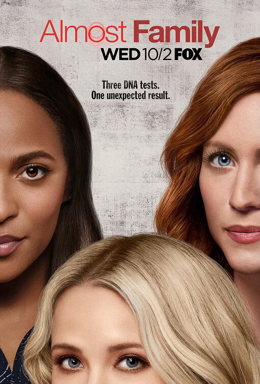 Megalyn Echikunwoke, Emily Osment, and Brittany Snow in Almost Family (2019)