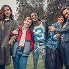 Nathaniel Curtis, Callum Scott Howells, Olly Alexander, Omari Douglas, and Lydia West in It's a Sin (2021)