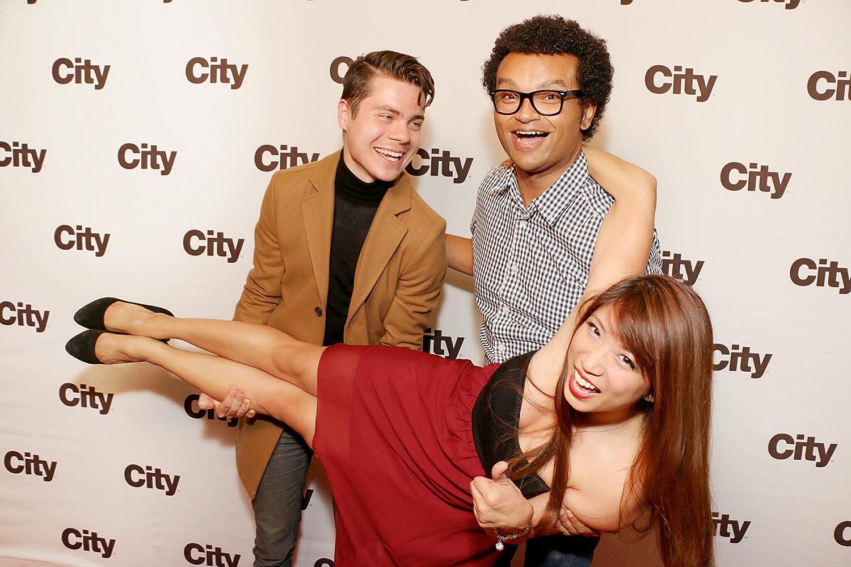 """Atticus Mitchell, Nile Seguin, Amanda Joy  """"Second Jen"""" Premiere at Toronto's Gladstone Hotel"""