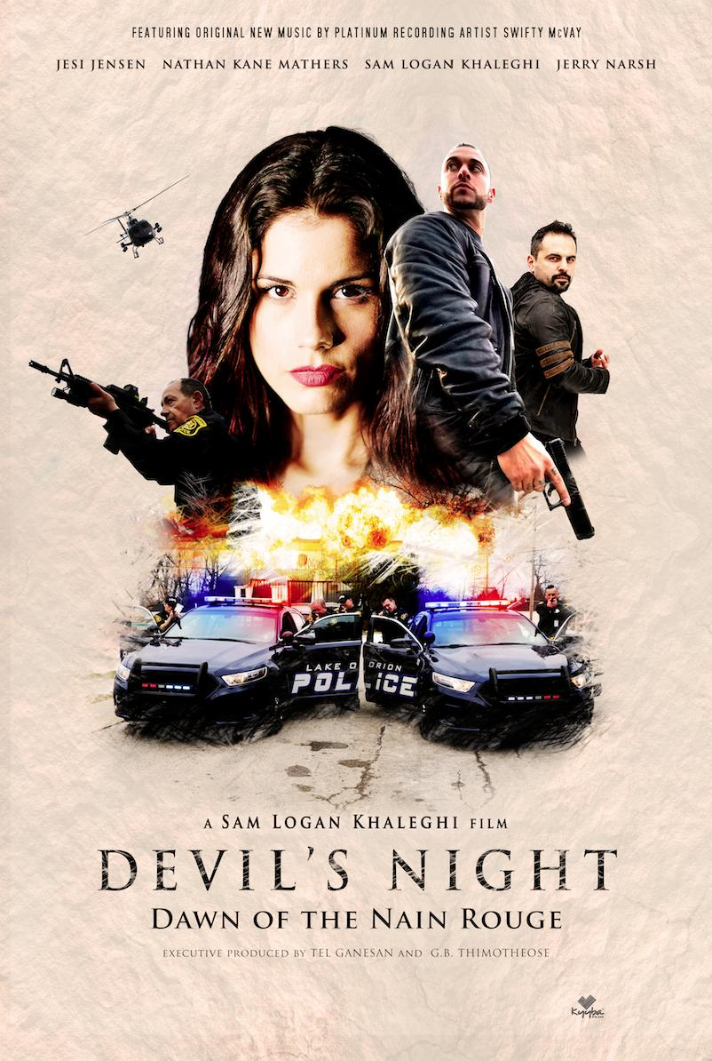 Devil's Night: Dawn of the Nain Rouge (2020) English