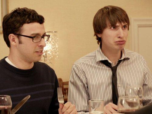 Simon Bird and Tom Rosenthal in Friday Night Dinner (2011)