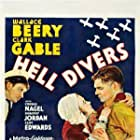 Clark Gable, Wallace Beery, and Dorothy Jordan in Hell Divers (1931)