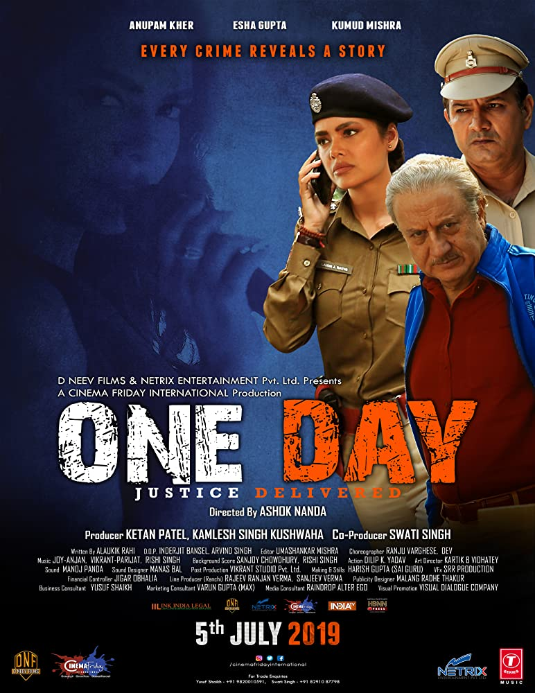 One Day Justice Delivered (2019) Hindi 720p DVDScr 1.2GB