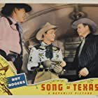 Roy Rogers, William Haade, and Barton MacLane in Song of Texas (1943)
