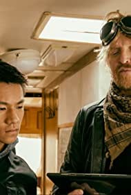 Jake Busey and Brandon Soo Hoo in From Dusk Till Dawn: The Series (2014)