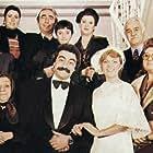 Levent Kirca, Neriman Köksal, Perran Kutman, Adile Nasit, Selim Nasit, Sener Sen, Nevra Serezli, and Mesut Sürmeli in Ne Olacak Simdi (1979)