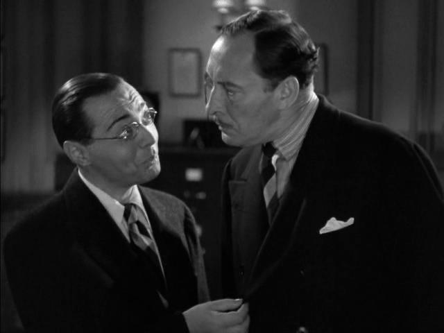Peter Lorre and Lionel Atwill in Mr. Moto Takes a Vacation (1939)