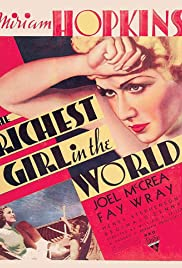The Richest Girl in the World Poster