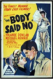 The Body Said No! Poster