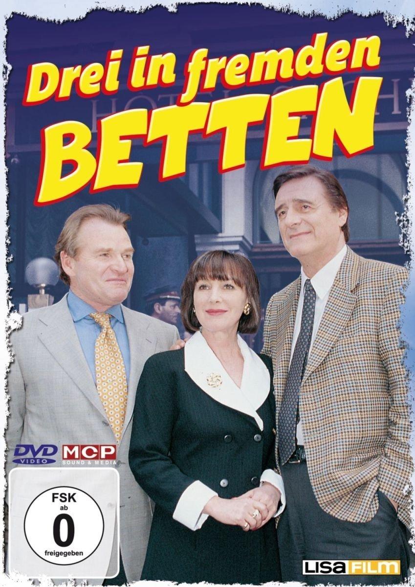 Helmut Fischer, Heidelinde Weis, and Fritz Wepper in Drei in fremden Betten (1996)