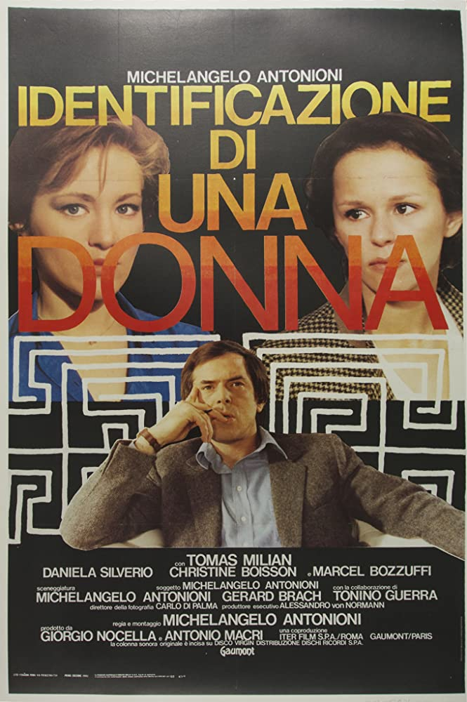 Christine Boisson, Tomas Milian, and Daniela Silverio in Identificazione di una donna (1982)