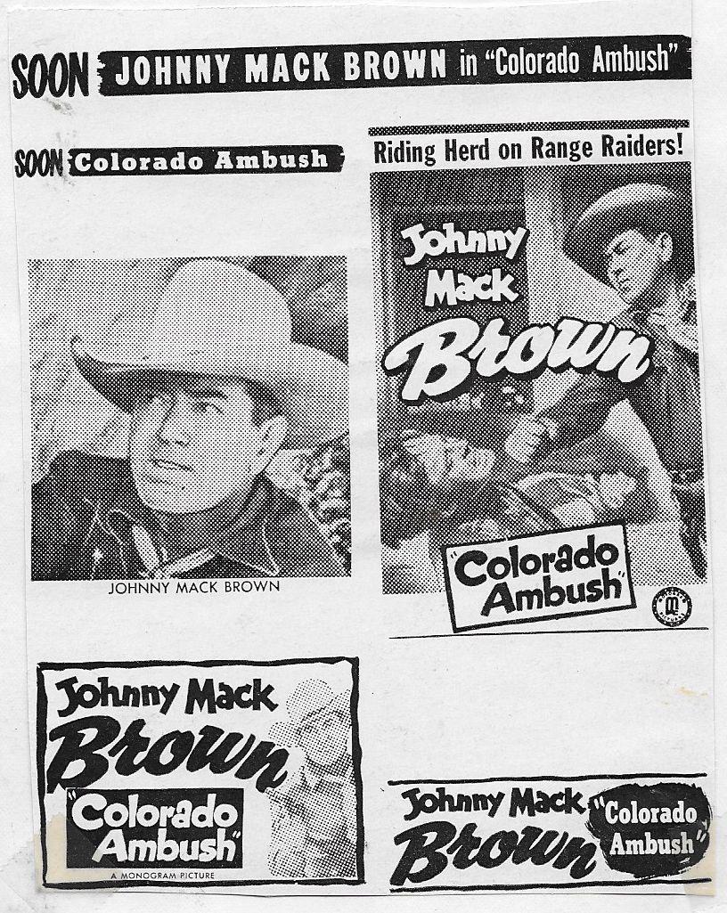 Johnny Mack Brown and Myron Healey in Colorado Ambush (1951)