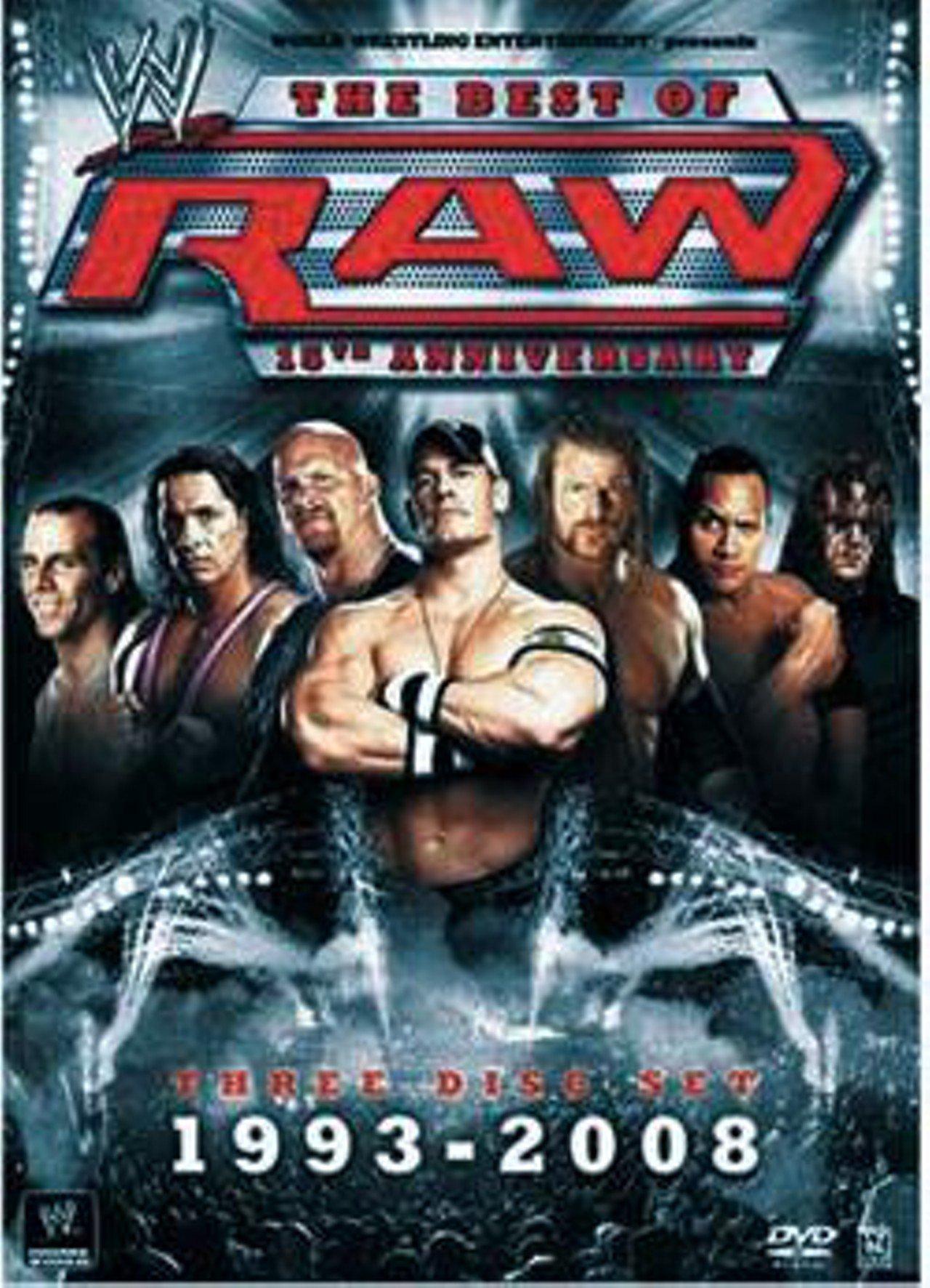 Steve Austin, Adam Copeland, Shawn Michaels, Paul Levesque, and John Cena in WWE: The Best of RAW - 15th Anniversary 1993-2008 (2007)