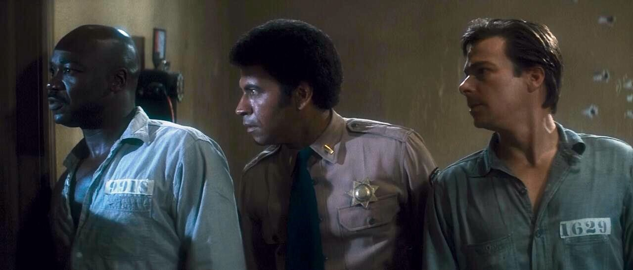 Tony Burton, Darwin Joston, and Austin Stoker in Assault on Precinct 13 (1976)
