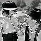 George 'Gabby' Hayes and Shirley Jean Rickert in 'Neath the Arizona Skies (1934)