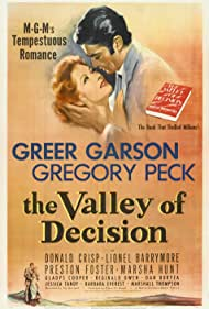 Gregory Peck and Greer Garson in The Valley of Decision (1945)