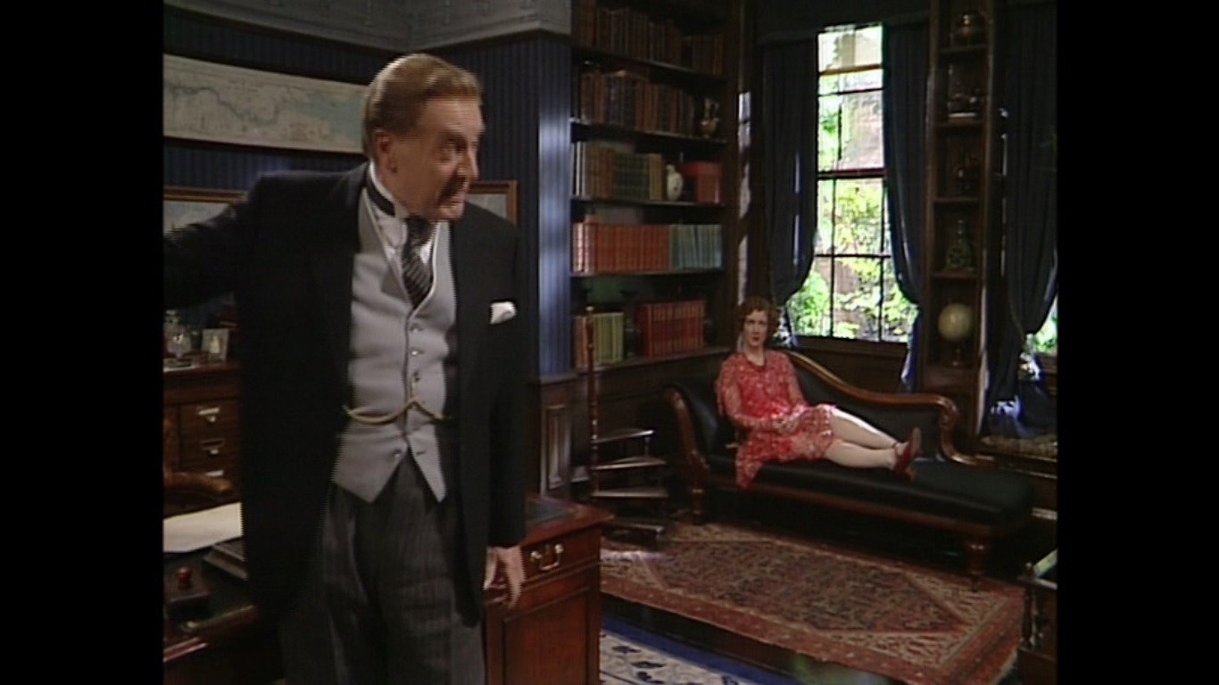Susie Brann and Donald Hewlett in You Rang, M'Lord? (1988)