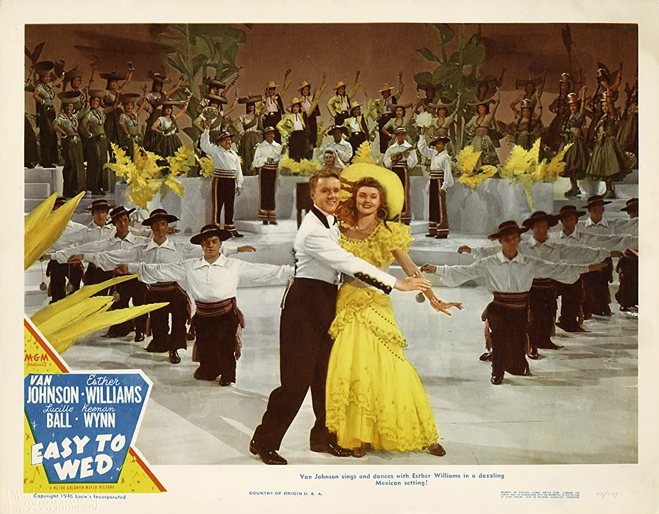Van Johnson and Esther Williams in Easy to Wed (1946)