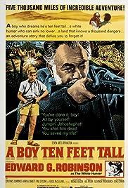 A Boy Ten Feet Tall Poster