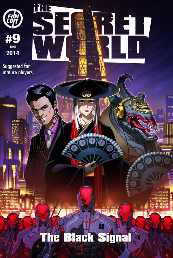 The Secret World: Issue 9 - The Black Signal (2014)