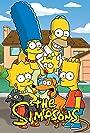 Julie Kavner, Nancy Cartwright, Dan Castellaneta, and Yeardley Smith in The Simpsons (1989)