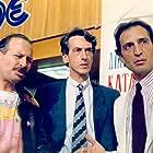 Giorgos Kotanidis, Takis Moshos, and Dimitris Poulikakos in Bios + politeia (1987)