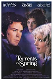 Torrents of Spring (1989) Poster - Movie Forum, Cast, Reviews