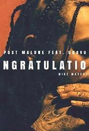 Post Malone Feat. Quavo: Congratulations Poster