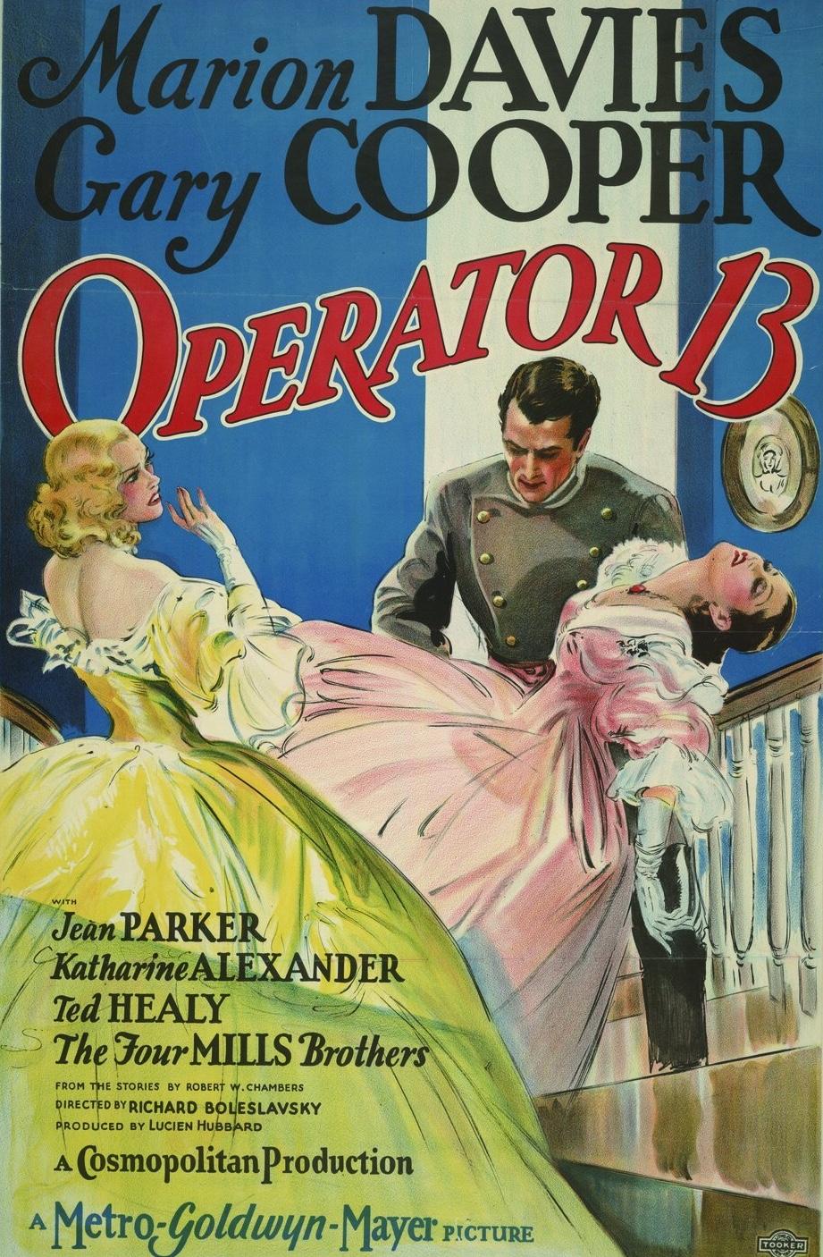 Operator 13 1934 IMDb