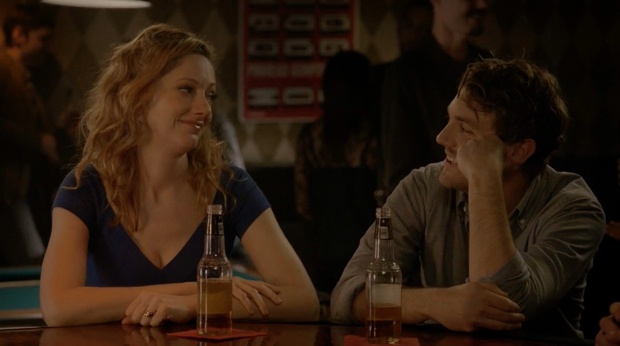 Judy Greer and Luke Baybak in Married