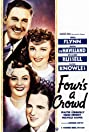 Four's a Crowd (1938) Poster