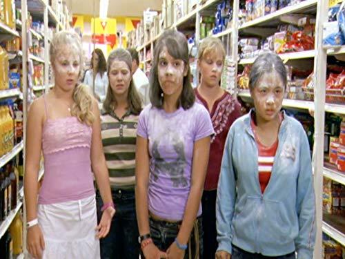 Basia A'Hern, Hannah Wang, Eliza Taylor, and Caitlin Stasey in The Sleepover Club (2003)