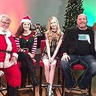 Lily Keene with Erika Bierman, Doug Kaye, Ken Feinberg and Christine Pullara promoting Santa's Bootcamp on the NBC Daytime Talk Show, Atlanta and Company.