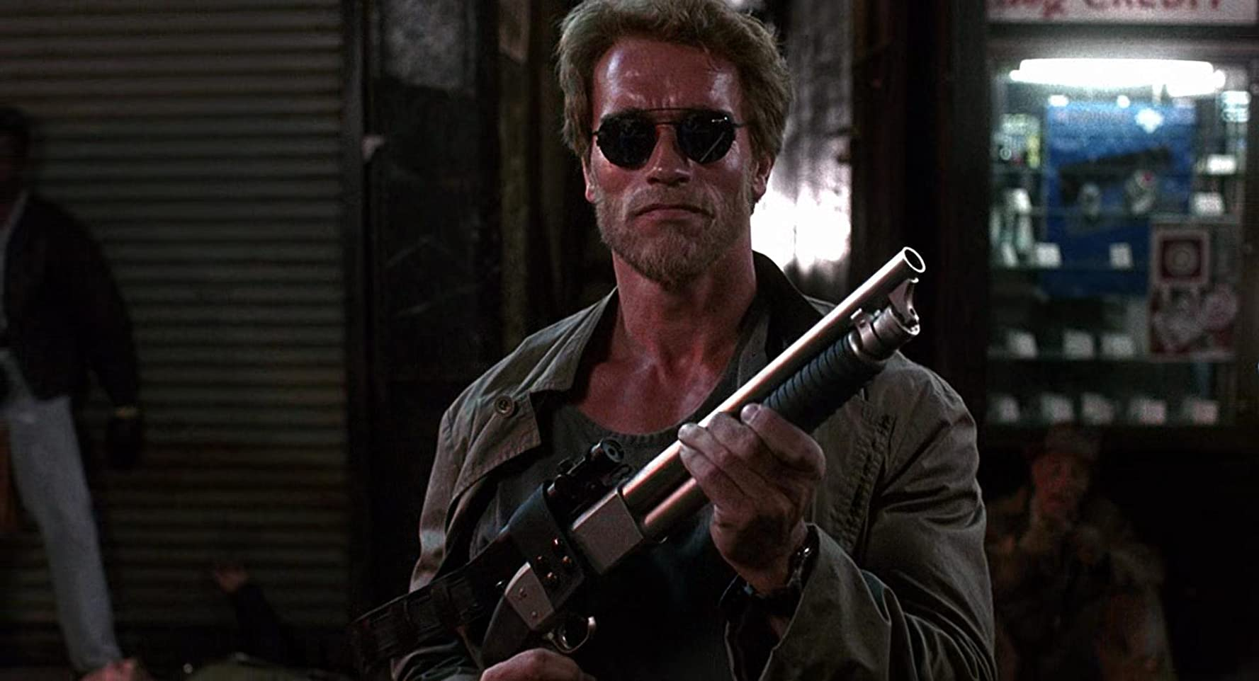 Arnold Schwarzenegger in Kindergarten Cop (1990)
