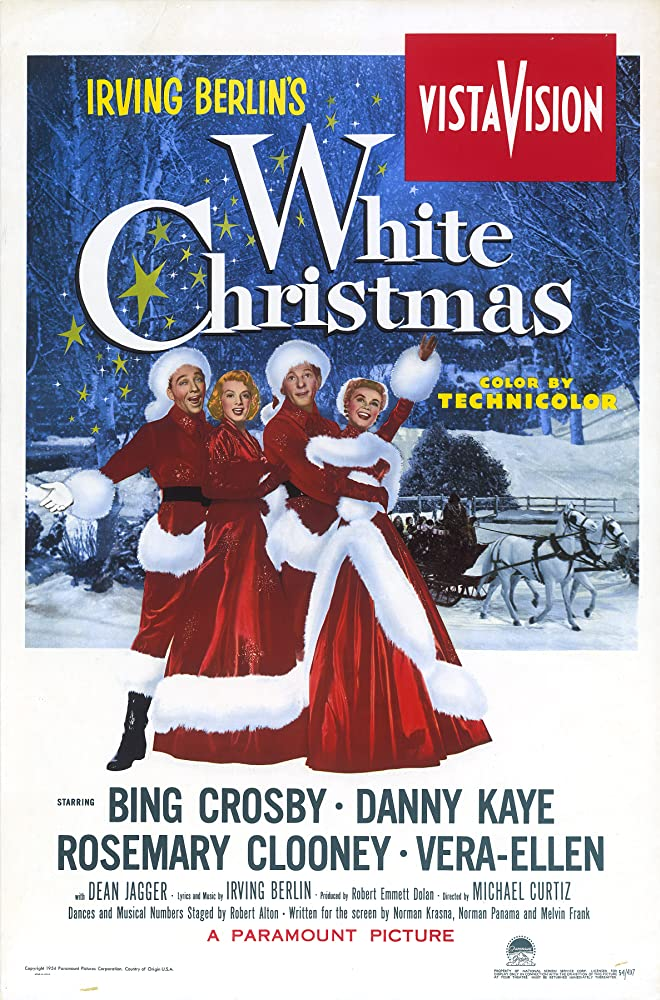 Danny Kaye in White Christmas (1954)