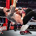 Adam Copeland and Joe Anoa'i in WrestleMania 37 (2021)