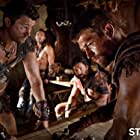Manu Bennett, Dustin Clare, Daniel Feuerriegel, and Liam McIntyre in Spartacus: Blood and Sand (2010)