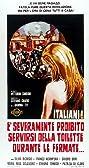 Italiani! È severamente proibito servirsi della toilette durante le fermate (1969) Poster