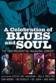 A Celebration of Blues & Soul: The 1989 Inaugural Concert Poster