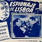 Erich von Stroheim, Richard Arlen, Eduardo Ciannelli, and Vera Ralston in Storm Over Lisbon (1944)