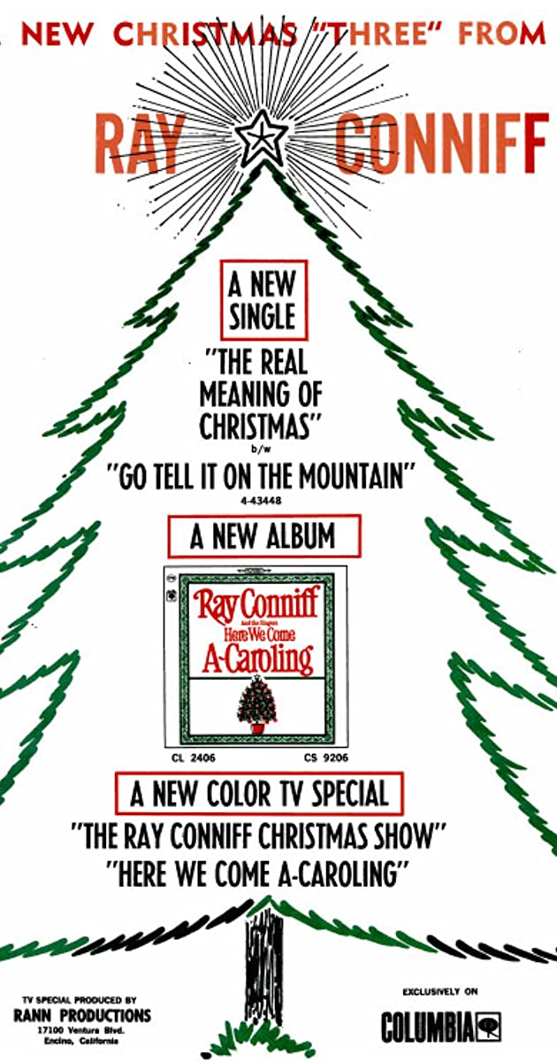 the ray conniff christmas show here we come a caroling 1965 imdb - Ray Conniff Christmas