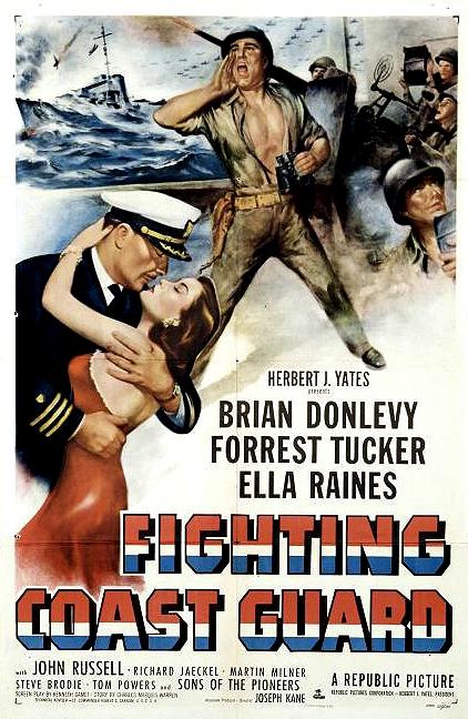 Movie Poster Fighting Coast Guard 1951