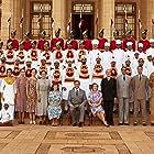 Gillian Anderson, Simon Callow, Hugh Bonneville, Lucy Fleming, Raj Zutshi, Darshan Jariwala, Manish Dayal, Sarah Jane Dias, Huma Qureshi, and Lily Travers in Viceroy's House (2017)