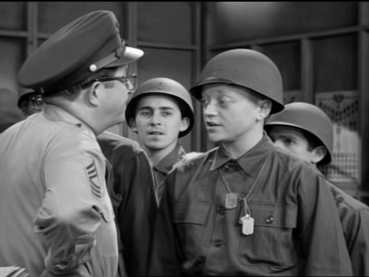 Eddie Bruce and Phil Silvers in The Phil Silvers Show (1955)