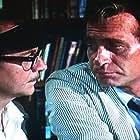 Wally Cox and Darren McGavin in The Night Strangler (1973)